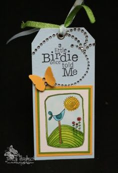 unity stamp company. kit used - SENTIMENT ONLY - birdie inspiration- card created by jessica diedrich