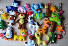 новогодние игрушки из фетра своими руками