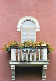 Photograph - Flowered Italian Balcony by Lynn Andrews ,