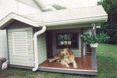 Для изготовления будки для собаки своими руками нужно немного времени и минимальный набор материалов
