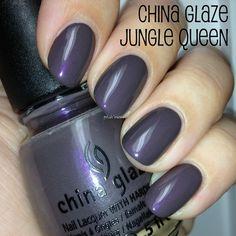 China Glaze Jungle Queen   #EssentialBeautySwatches   BeautyBay.com