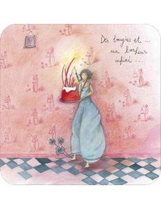 "Anne-Sophie RUTSAERT carte d'art ""Un Bonheur Infini..."" Illustrations, Illustration Art, Art Carte, Anne Sophie, Happy Birthday Cards, Beautiful Paintings, Art Music, Mandala, Fairy"
