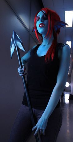 #Undyne from #Undertale by #cosplayer Obliviate #cosplay