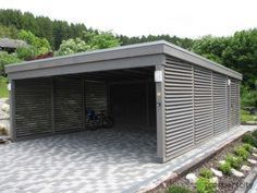 Carports are designed to protect your vehicle from elements that would damage it. Carport Sheds, Carport Garage, Pergola Carport, Pergola Kits, Pergola Ideas, Carport Aus Aluminium, Aluminum Carport, Building A Carport, Metal Building Homes