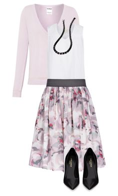 """""""70"""" by mindy-2-1 ❤ liked on Polyvore featuring Pull&Bear, Reiss, Yves Saint Laurent and Eddie Borgo"""