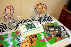 Our simple 1st birthday for Wild Thing