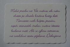 Vtipná kartička k svadobnému oznámeniu - - Sv...