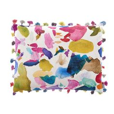 Discover the Bluebellgray Portree Quay Tassel Cushion - 61 x 45 cm at Amara