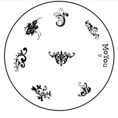Image plate 62 - MoYou Nails - Nail Stamping Plates, Nail art kits, Nail Polish and Decorations Image Plate, Nail Art Kit, Nail Stamping Plates, Decorative Plates, Nail Polish, Nails, Stuff To Buy, Decorations, Finger Nails