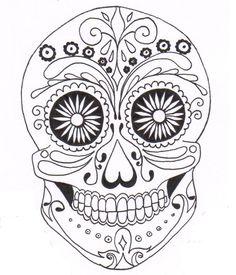 mexican sugar skull - Google Search