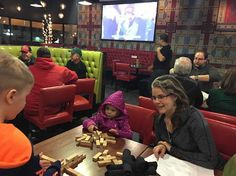 Rival House restaurant in downtown St Paul - fun for families