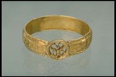 ring, gold. Ugglom, Dalsland, Sweden 14th...where my family & family name (Dahl) originated