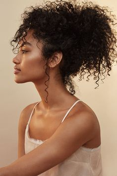 Our Super Quick Updo Obsession. | Read more at H&M Magazine