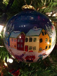 Newfoundland Christmas ornament - mummers 12 Days Of Christmas, Christmas Balls, Christmas Holidays, Christmas Crafts, Merry Christmas, Christmas Ornaments, Newfoundland Canada, Newfoundland And Labrador, Fun Crafts