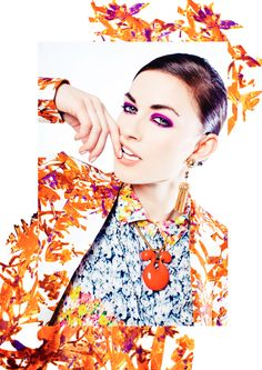 EB photo illustrations for Glossed and Found 2013 Spring Fashion Issue