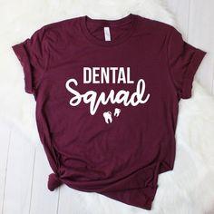 Source by T-Shirts Dental Assistant Humor, Dental Hygiene School, Dental Life, Dentist Humor, Dental Art, Dental Hygienist, Nclex, Kelly Green, Dental Shirts