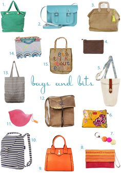 Get the Look : Handbags and Bits | Down that Little Lane