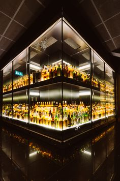 The World's Largest Collection of Scotch Whisky @ The Scotch Whisky Experience.