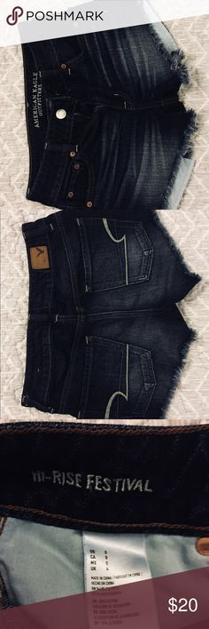 AE Festival Jean Shorts Super comfy and goes with any simple top! No stains. Like new condition. American Eagle Outfitters Shorts Jean Shorts