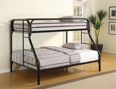 Coaster Fordham Twin Over Full Bunk Bed Las Vegas Furniture Online | LasVegasFurnitureOnline | Lasvegasfurnitureonline.com