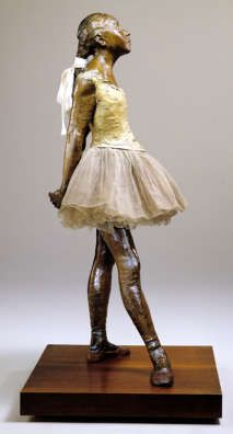 Degas I so love this sculpture and was amazed to see how larger than life it is in person.Take my breath away!