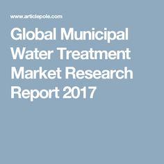 Global Municipal Water Treatment Market Research Report 2017