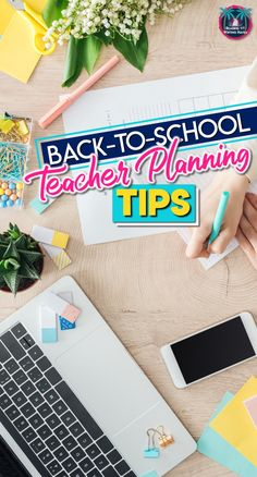 Back to school planning for teachers. Tips to make the beginning of the year go more smoothly. Getting ready to head into the classroom after summer break? Here are some helpful tips for back to school planning for teachers. Middle School Ela, Middle School English, Back To School Teacher, Middle School Classroom, English Classroom, Elementary Teacher, Elementary Education, Art Education, School Plan