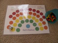 Nest Bliss: Preschool Activity Swap - such a mom thing to do!make with do a dot markers and laminate Rainbow Crafts Preschool, Preschool Themes, Activities For Kids, Crafts For Kids, Learning Apps, Learning Time, Girl Scout Swap, Girl Scouts, Do A Dot