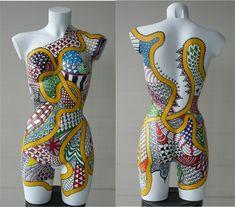 Lida Bruinen - body 1 Mannequin Legs, Body Image Art, Body Cast, Art Vintage, Crochet Woman, Human Art, Art Blog, Body Art Tattoos, Dressmaking