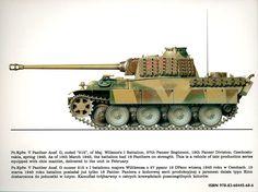 Пантера G .№-215. 2nd, 3rd-I/Pz Rgt 27 19 Pz Div former Czechoslovakia.