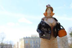 home decor, ceramic statues, ceramic sculpture, ceramic figurine, unique ceramic, rustic home decor, ceramic by Agnieszka Beer