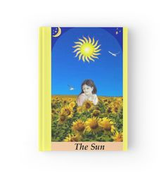 THE SUN by Tarot Romance - Gorgeous Tarot journals are now available in my shop ☺ - yay!