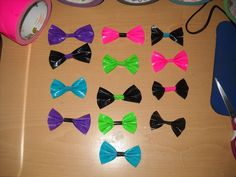 duct tape projects | Duct Tape Bows :P ∙ Version by Flowermouse on Cut Out + Keep