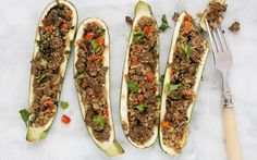 Recipe from The Burn -- This Stuffed Zucchini is absolutely delicious, and it's perfectly balanced to help heal your body and burn fat on the D-Burn (and it also works great for Phase 3). Check out our blog for the recipe!