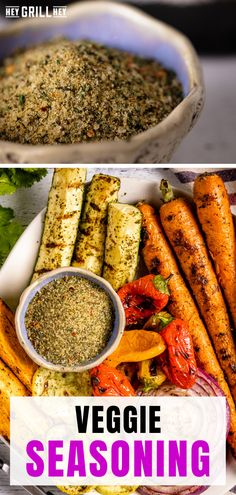 This Veggie Seasoning is totally perfect for grilling up all of your favorite vegetables. Flavorful herbs and robust spices come together in a simple blend that elevates everything you sprinkle it on. This rub is made up of ingredients you'll almost always have on hand, so it comes together quickly and easily.