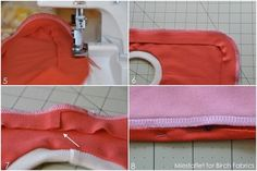 Tutorial & Free PDF Template | The Reversible Pullover Bib | by Miestaflet | FabricWorm