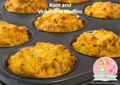 Ham and Vegetable Muffins
