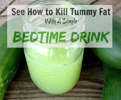 Tummy Fat Bedtime Drink Recipe