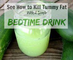 Tummy Fat Bedtime Drink Recipe