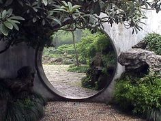 Circular Flower Garden That Makes You Happy 01 Garden Gates, Garden Beds, Garden Art, Garden Design, Lotus Garden, Dream Garden, Backyard Retreat, Backyard Landscaping, Back Gardens