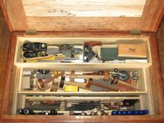 WoodNet Forums: Why loose tools in a tool box? Why even a tool box?