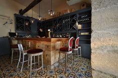 French bistro inspired kitchen/diner.