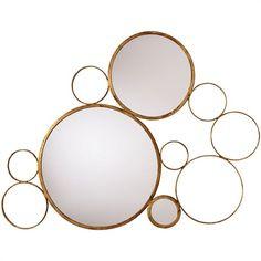 Arteriors Home - Sheridan Iron Mirror - 6239 - Sheridan Collection Mirror Gold Home Accessories, Decorative Accessories, Decorative Items, Interior Accessories, Floor Mirror, Mirror Mirror, Mirror Game, Wall Mirrors, Mirror Ideas