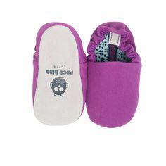 Plain Purple Mini Shoes