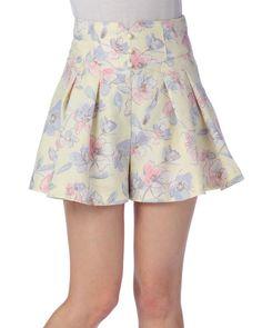 大人ロゴ花キュロット|渋谷109で人気のガーリーファッション リズリサ公式通販