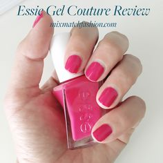 Click through to read my Essie Gel Couture review (hint: this was taken on day 11 !!) Color: The It-Factor