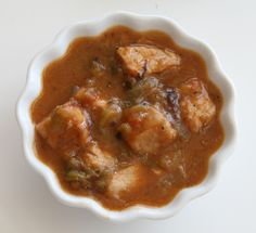 Green Chili Stew from The Pink Adobe using Hatch chiles