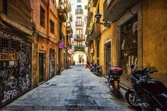 Street in Barcelona ~ http://hdrphotographer.blogspot.com/2013/07/street-in-barcelona.html