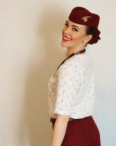 From @vesela_hristy Level of happines is shown on your face and in your eyes. Keep dreaming and achieve every single goal. That will feed your soul and give you will to go forward. Be proud on who you are and thankful for all opportunities God gave you.   #lovinglife #burgundy #uniform #happiness #proud #qatarairways #smile  #cabincrewlife #cabincrew #crewiser #flight #pilot #flying #avgeek #travel #airhostess #flightcrew #airplane #stewardess #layover #crewfie #airlines #flightattendantlife…