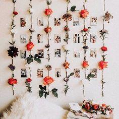 Cute Bedroom Decor, Room Ideas Bedroom, Decor Room, Flower Room Decor, Bedroom Inspo, Diy Wall Decor, Bedroom Colors, Kids Bedroom, Master Bedroom